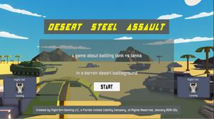 Desert Steel Assault - Alpha 03 game