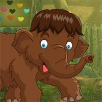 Brown Elephant Rescue game