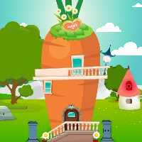 Gfg Carrot House Bunny Rescue game