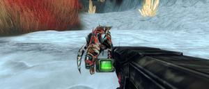 Alien Planet 3D Shooter game