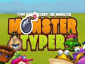 Monster Typer Bomb game