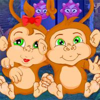 Pair Monkey Rescue Escape game