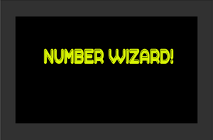 Numberwizardui game
