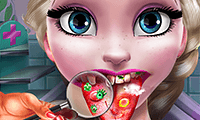 play Ice Queen: Tongue Doctor