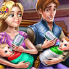 play Rapunzel Twins Family Day