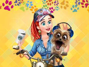 Princesses & Pets Photo Contest game