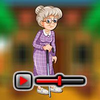 play Walking Grandma Escape Game Walkthrough