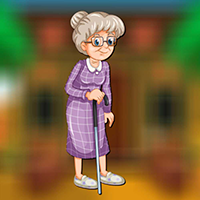 Walking Grandma Escape