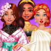 Princesses Ancient Vs Modern Looks game