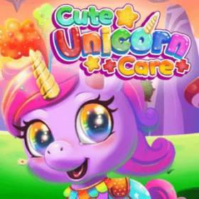 Cute Unicorn Care - Free Game At Playpink.Com game