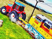 play Chained Tractor Towing Train 2018