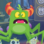 play Fearful Green Creature Rescue