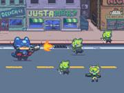play Cat Gunner Vs Zombies
