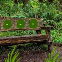 play Big Wooden Bench Forest Escape