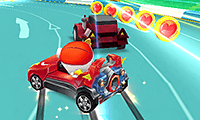 Superhero Karts game