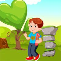 play Games4King-Cute-School-Boy-Escape