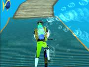 Underwater Cycling game