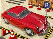 Classic Car Parking Driving School game