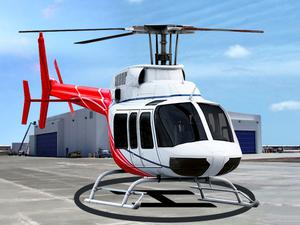 Helicopter Parking And Racing Simulator game