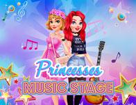 Princesses Music Stage game