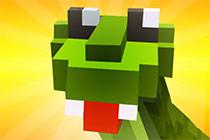 Blocky Snakes game