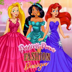 play Princess Prom Fashion Design
