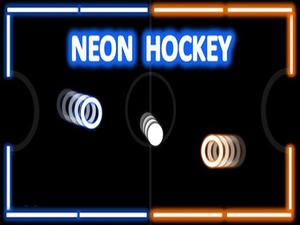 Neon Hockey game