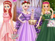 play Princess Spring Color Style
