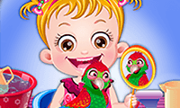 play Baby Hazel: Parrot Care