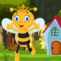 play Games4King-Queen-Bee-Rescue