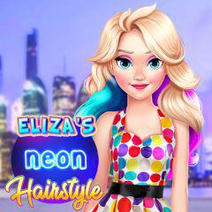 play Eliza'S Neon Hairstyle