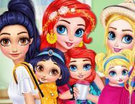 play Princesses Baby Wearing Fun