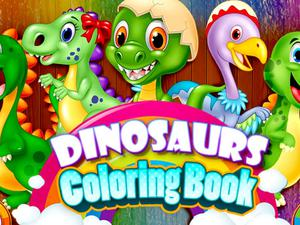 play Dinosaurs Coloring Book