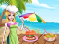 Cooking Foods In Outdoor Kitchen game