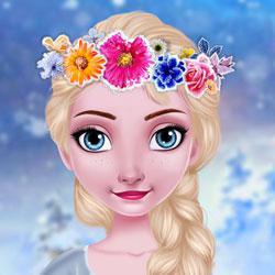 play Ice Queen Frozen Crown