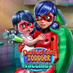 play Dotted Girl Toddler Vaccines