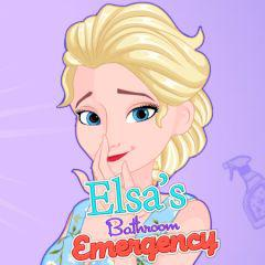 play Elsa'S Bathroom Emergency