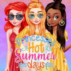 play Princesses Hot Summer Days