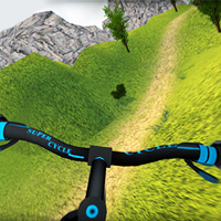 Mountain Bike Hill Racing game