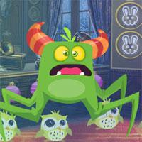 play G4K-Fearful-Green-Creature-Rescue-