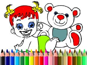 play Bts Baby Doll Coloring