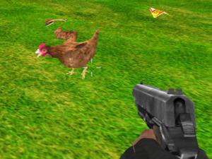 Chicken Shooter game