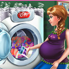 Pregnant Princess Laundry Day game
