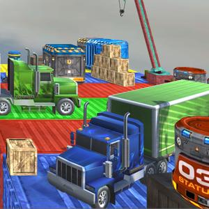 play Xtreme Truck Sky Stunts Simulator