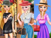 play Princesses Spring Casual Dressup