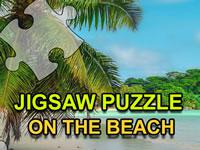 Jigsaw Puzzle On The Beach game