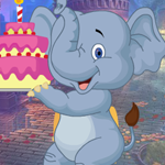 Birthday Elephant Escape game
