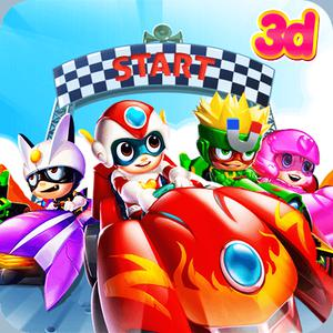 Cartoon Racing 3D game