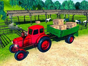 Farmer Tractor Cargo Simulation game