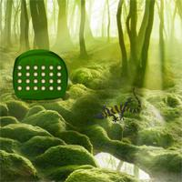 G2R Green Forest Lizard Escape game